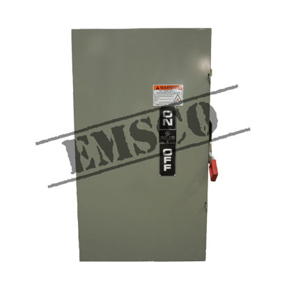 Picture of GE 400 Amp, 600 Volt Fusible Safety Switch
