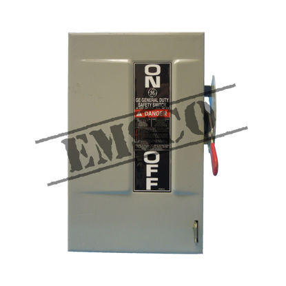 Picture of GE 30 Amp, 240 Volt Fusible Safety Switch