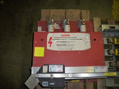 Picture of QA1233B 1200A 3P 480V Pringle Switch (Red)
