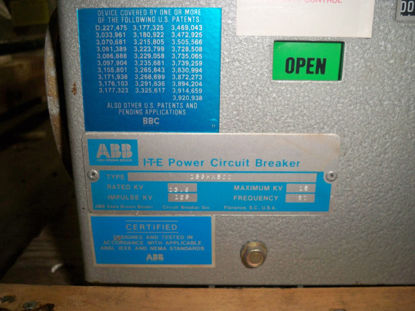 Picture of 15-GHK-500 ABB 15KV 1200A EO/DO Circuit Breaker