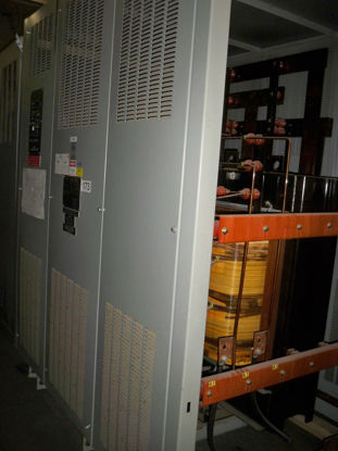 Picture of 1500/2000KVA 4160-480Y/277V GE Dry Type Transformer #173