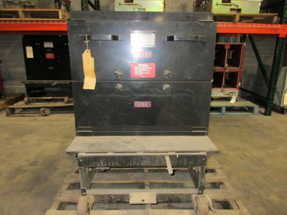 Picture of Westinghouse Ground & Test Unit 15KV 1200-2000A #23036