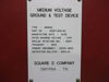 Picture of Square D Manual Ground & Test Unit, 27KV, 2000A #23037