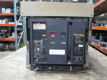 Picture of MP16H1 Merlin Gerin  Masterpact Breaker 1600 Amp 600 VAC M/O D/O