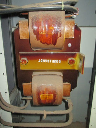 Picture of Westinghouse 553D124G57 125HP 480V 2-Coil Auto Transformer