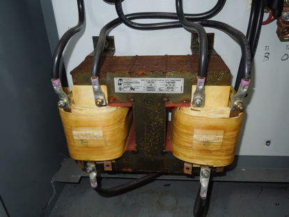 Picture of Hammond 29203C1. 75HP/100HP 440/480V 2-Coil Auto Transformer Used