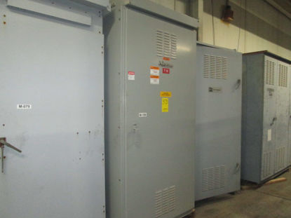 Picture of Boltswitch 4000 Amp 3 Phase 4 Wire 480/277 Volt SL3613-G6-MST Free Standing W/ GFI  NEMA 3R