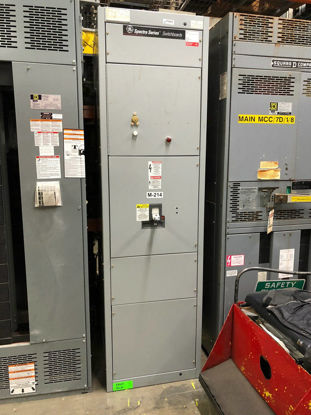 Picture of GE Spectra Series 1200 Amp 3 Phase 4 Wire Main Breaker Panel