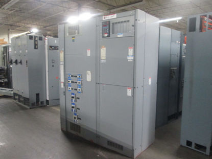 Picture of Cutler Hammer Westinghouse Pow-R-Line C Switchboard 1600A 3ph 4w  Main Lug Only Line-up