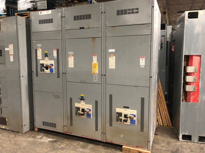 Picture of Cutler-Hammer Power Line C 1600 Amp 480/277 Volt 3 Phase 4 Wire Panel