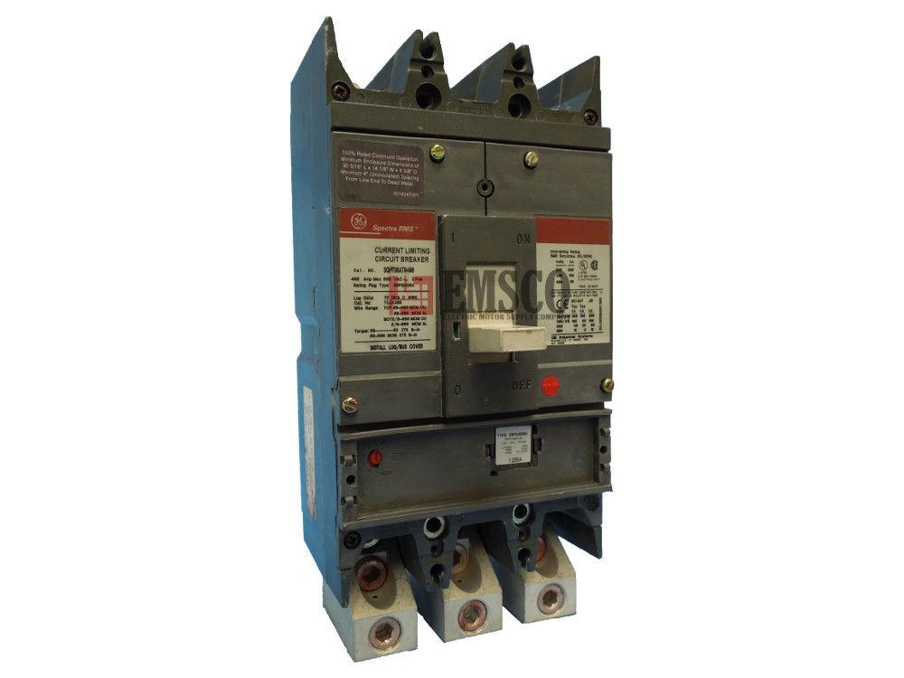 Picture of SGPP36AT0400 General Electric Circuit Breaker