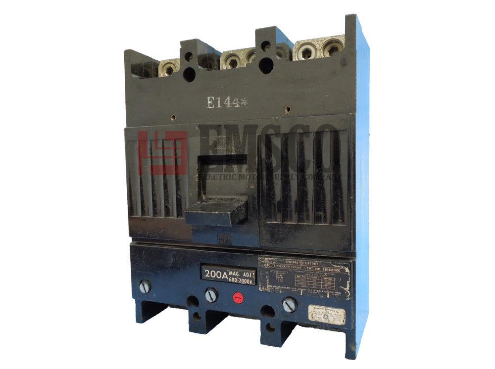 Picture of TJK436200 General Electric Circuit Breaker