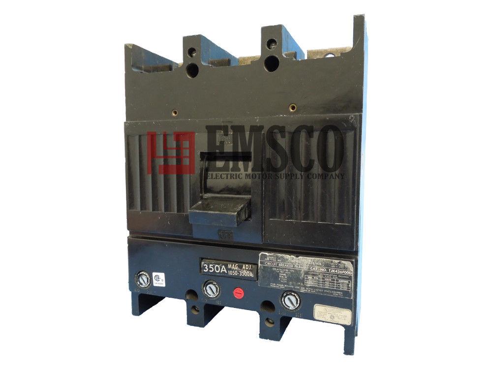 Picture of TJK436350 General Electric Circuit Breaker