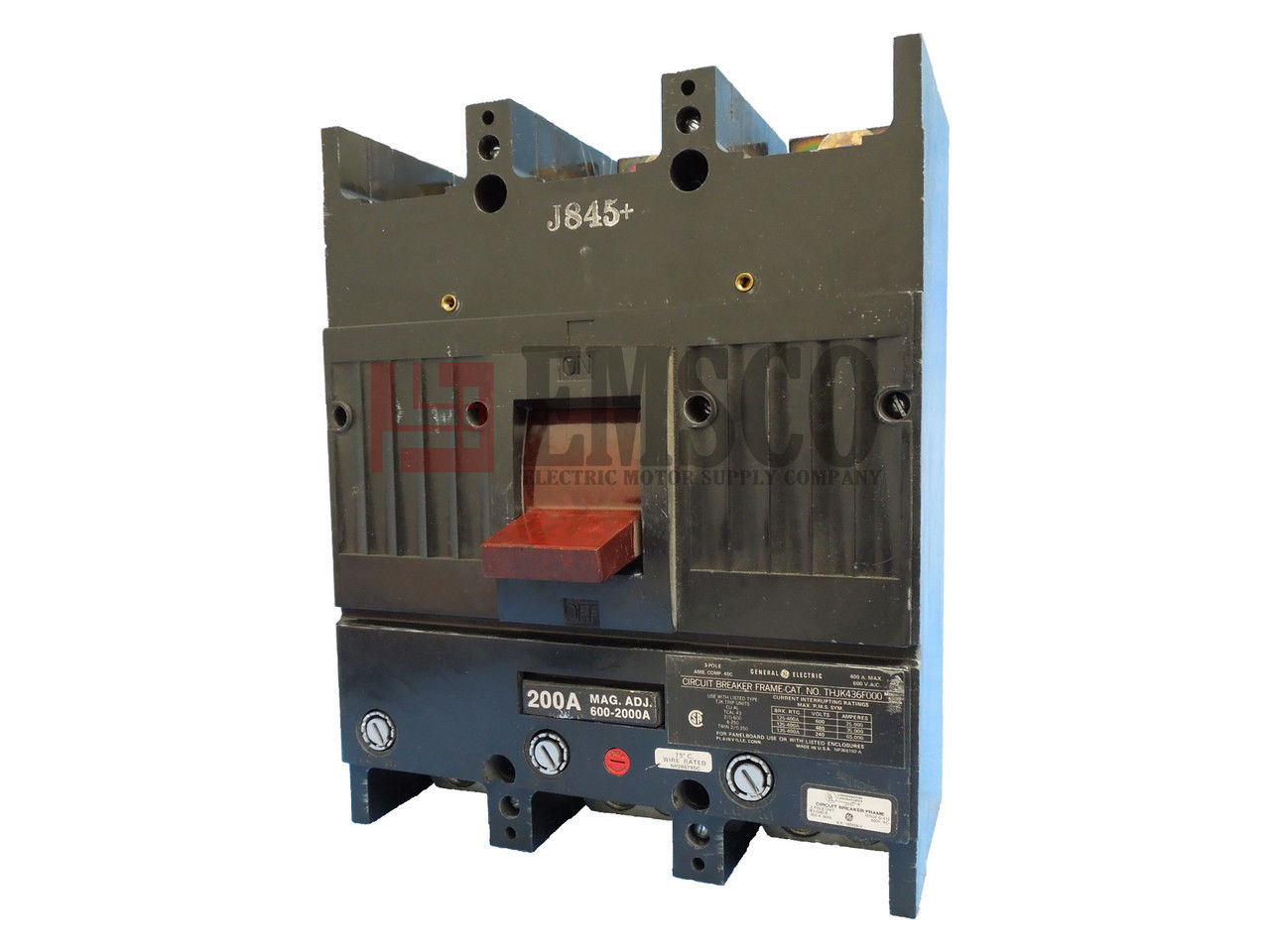 Picture of THJK436200 General Electric Circuit Breaker