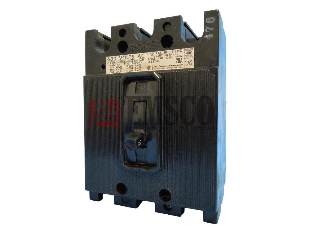 Picture of EF3-B020 ITE Circuit Breaker