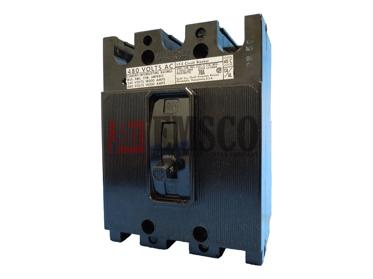 Picture of EH3-B070 ITE Circuit Breaker