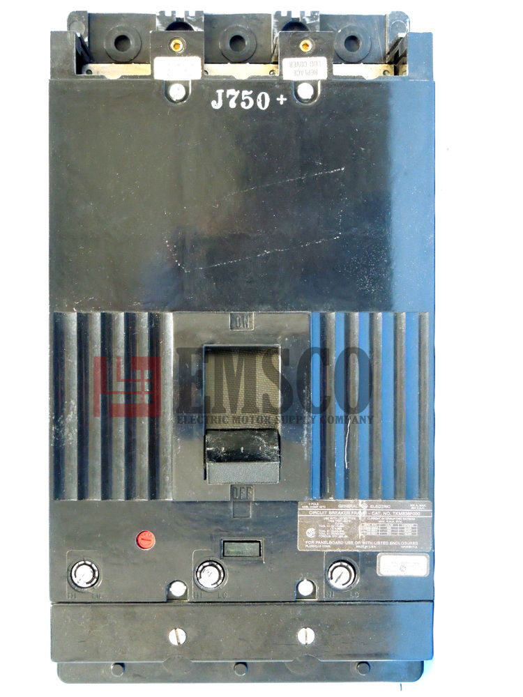 Picture of TKM863F000 General Electric Circuit Breaker
