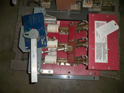 Picture of BLO32160 Square D 1600A 240V Red Back Plate Switch