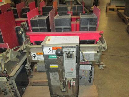Picture of RL-1600 Siemens-Allis 1600A 600V Air Breaker MO/DO LSI