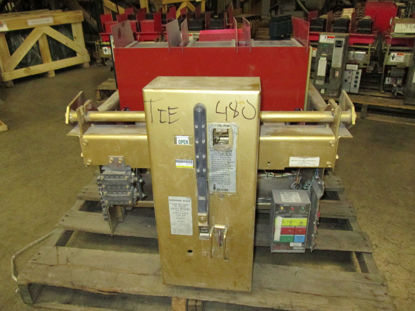 Picture of LA-3200A Siemens 3200A 600V Air Breaker MO/DO LSG