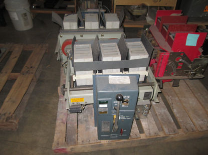 Picture of LA-1600 Allis-Chalmers 1600A 600V Air Circuit Breaker MO/DO
