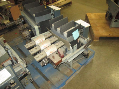 Picture of LA-600F Siemens Allis 600A 600V Fused Air Breaker MO/DO LSG