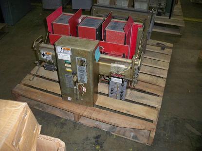 Picture of RL-3200 Siemens-Allis 3200A EO/DO Air Breaker LSIG
