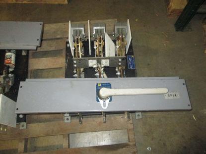 Picture of BL-36120-0 Square D 1200 Amp 600 Volt Load Break Switch Black Base