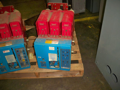 Picture of LK16 BBC 1600A 600V MO/DO Air Breaker LSI