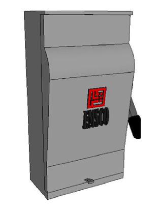 Picture of GE 100 Amp, 600 Volt Non-Fusible Safety Switch