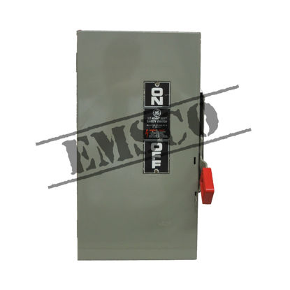 Picture of GE 60 Amp, 240 Volt Non-Fusible Safety Switch
