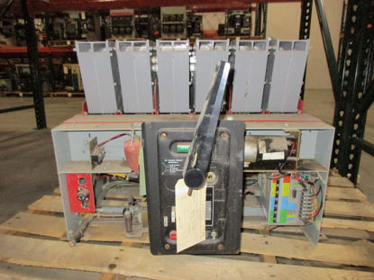 Picture of 75H-3 FPE Air Breaker 600V 3200A Electric Operated/Stationary Mount 120VAC