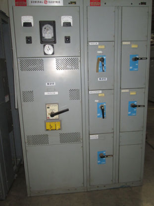 Picture of General Electric AV-Line 2000 Amp 480 Volt 3 Phase 3 Wire TPSS6620 Power Break Main Breaker Panel