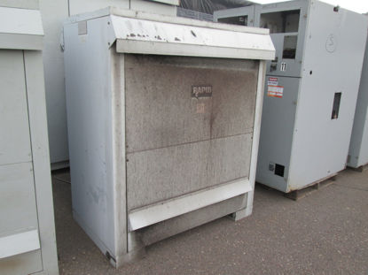 Picture of 300KVA 2400-480V 3ph Rapid Power Technologies Dry Type Transformer #208