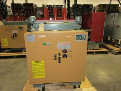Picture of FKR-255 GE converted to Merlin Gerin Fluarc FG 2 15KV 1200A Vacuum Breaker