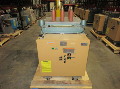 Picture of FKR-255 GE converted to Merlin Gerin Fluarc FG 2, 15KV, 1200A Vacuum Breaker #22787