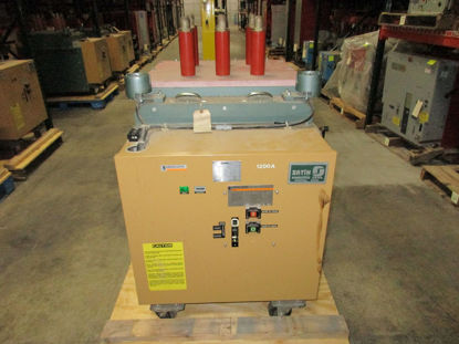 Picture of FKR-255 GE converted to Merlin Gerin Fluarc FG 2 15KV 1200A Vacuum Breaker EO/DO