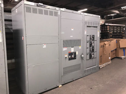 Picture of General Electric Spectra Series 4000 Amp 3 Phase 4 Wire SSD40G440 Main Breaker panel w/ LSIG