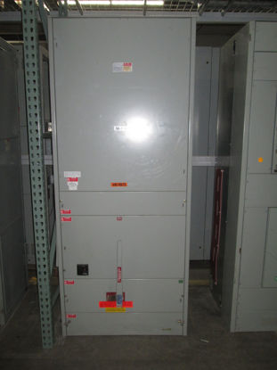 Picture of Challenger type FDP FA1W 2500 Amp 3 Phase 4 Wire 480Y/277 Volt VL3611-GC Fusible Main panel (M-110)