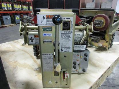 Picture of LA-600B Siemens-Allis Air Breaker 600A 600V MO/DO LIG