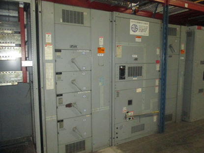 Picture of Cutler-Hammer 3000 Amp 480/277 Volt 3 Phase 4 Wire QA3033CBC Main Fusible Panel w/ GFI NEMA 1 (M-147)