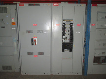 Picture of General Electric AV-Line 1600 Amp 460Y/265V 3 Phase 4 Wire TPVF5616 Main Breaker Panel