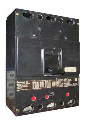 Picture of HLA3400 Westinghouse Circuit Breaker Used E-OK