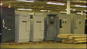 Picture of Medium Voltage Switchgear