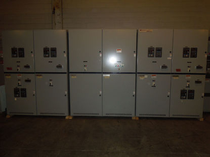 Picture of Cutler-Hammer VacClad-W Metal Clad Switchgear 1200A 15KV Main-Tie-Main