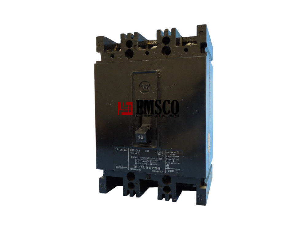 Picture of EHB3080 Westinghouse Circuit Breaker