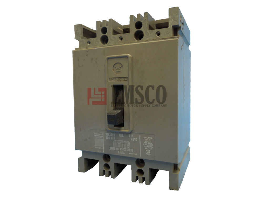 Picture of HFB3080 Westinghouse Circuit Breaker