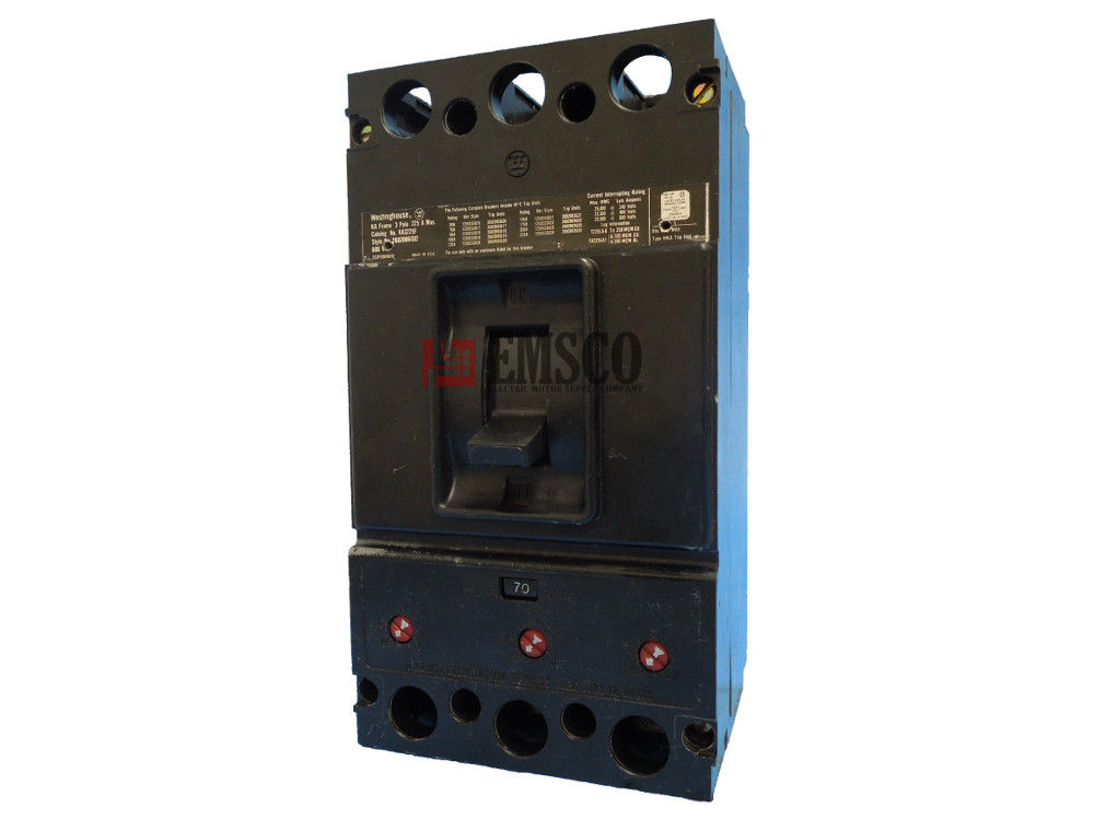 Picture of KA3070 Westinghouse Circuit Breaker