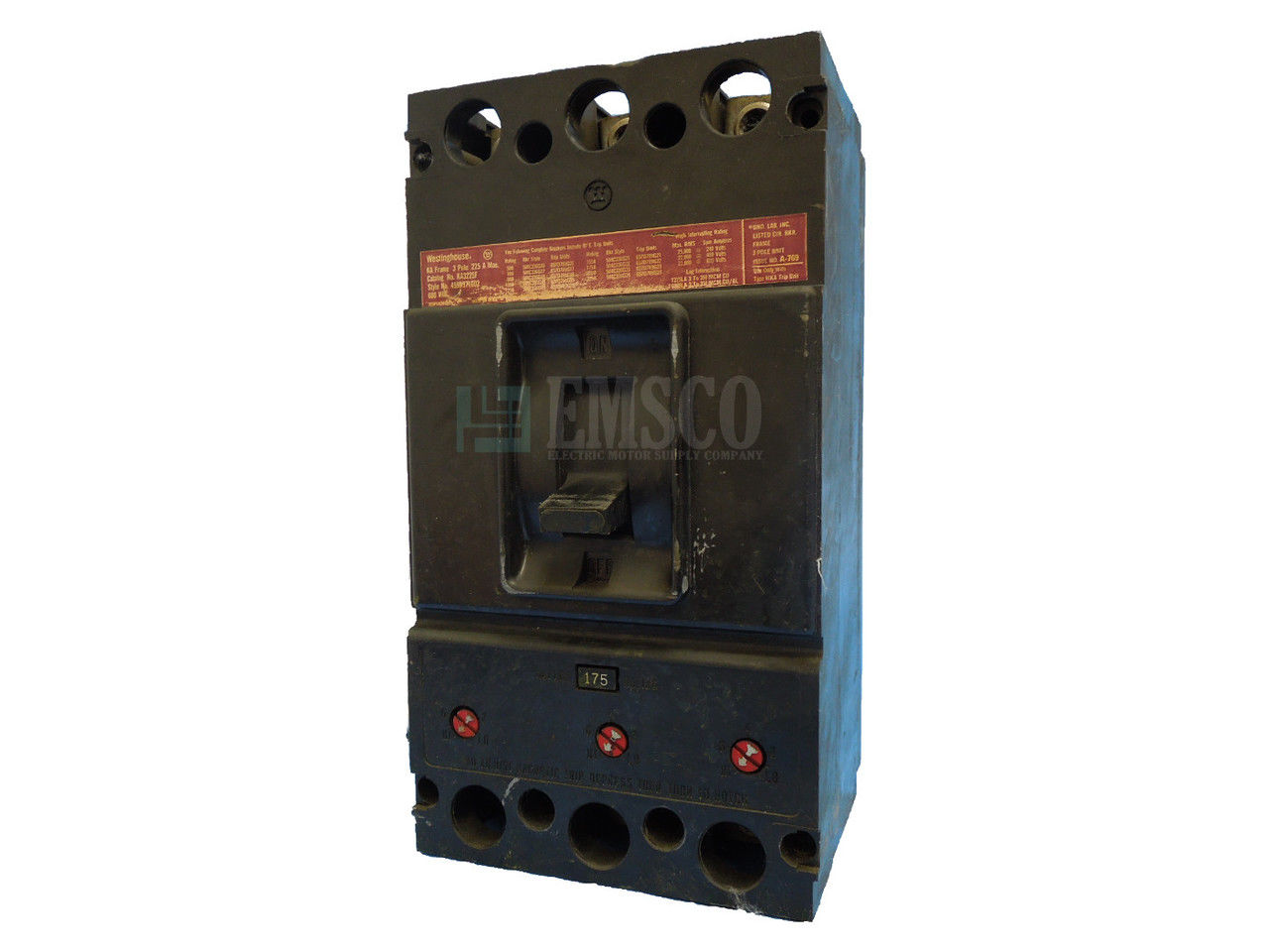 Picture of KA3175 Westinghouse Circuit Breaker
