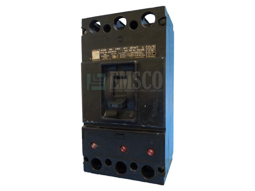 Picture of JA3100 Westinghouse Circuit Breaker